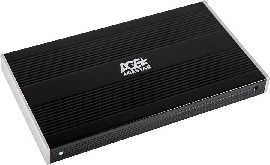 Корпус для жесткого диска AgeStar SUB2S, Black SUB2S BLACK