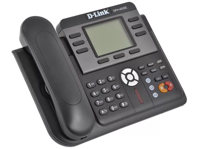 VoIP-телефон D-Link DPH-400SE/E/F2, WAN, LAN, есть определитель номера