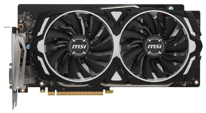Видеокарта MSI GeForce GTX 1060 1544Mhz PCI-E 3.0 6144Mb 8000Mhz 192 bit DVI HDMI HDCP ARMOR 6G GTX 1060 ARMOR 6G