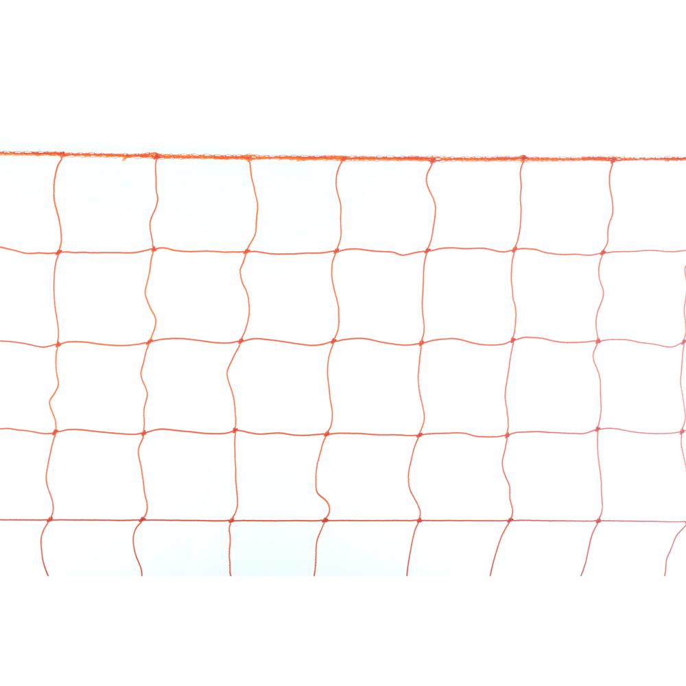 Сетка для футбольных ворот START UP 9007 оранж.(4356) (пара)