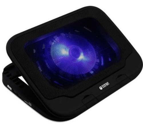"Titan TTC-G21T, до 15"" - Подставка под ноутбук; назначение - ноутбуки с диагональю 10""-15""; соединение - USB; пластик"