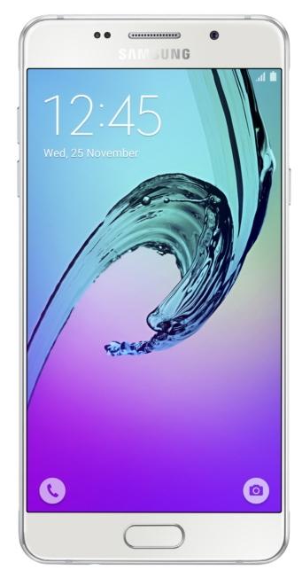 Samsung Galaxy A5 (2016), White - (; GSM 900/1800/1900, 3G, 4G LTE, LTE-A Cat. 6; SIM-карт 2; 1600 МГц; RAM 2 Гб; ROM 16 Гб; 2900 мА?ч; 13 млн пикс., светодиодная вспышка; есть, 5 млн пикс.; датчики - освещенности, приближения, компас, считывание отпечатка пальца)