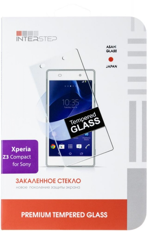 Защитная пленка InterStep для Sony Z3 Compact IS-SF-SONZ3CUCL-000B201
