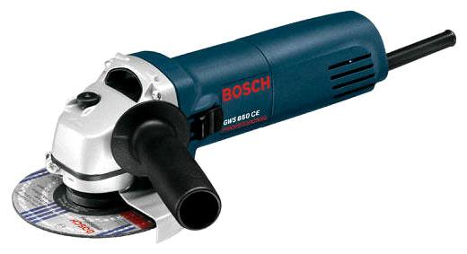 Bosch GWS 850 CE - угловая; 850 Вт; до 11000 об/мин; диам.диска до 125 мм; питание бытовая электросеть 601378792