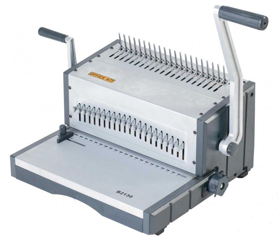 Брошюратор Office Kit B2130 A4, grey