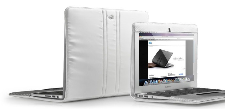 "MacBook Air 11 Emperor Jacket MBA-11 Сowhide Leather Case White - (для экрана 10.1""; кожа; белый)"