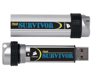 Фотография: Флешка Corsair Survivor Ultra Rugged 8Gb - 8 Гб, USB 2.0