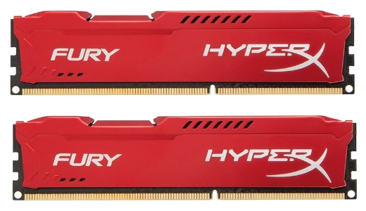 ����������� ������ Kingston HX318C10FRK2/8, 8 Gb (2x 4Gb, DDR3 DIMM, 1866 MHz)