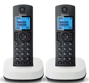 Радиотелефон Panasonic KX-TGC312RU2 Black/White