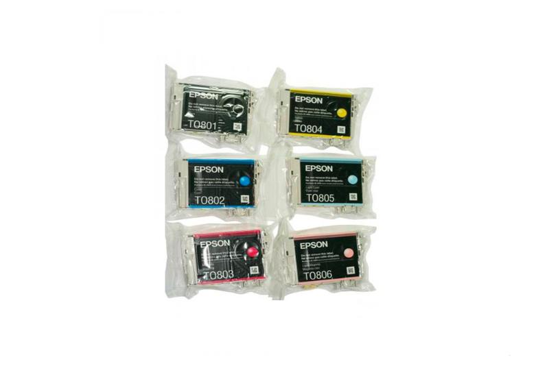 Картридж струйный Epson T079A, 6 colors C13T079A4A10