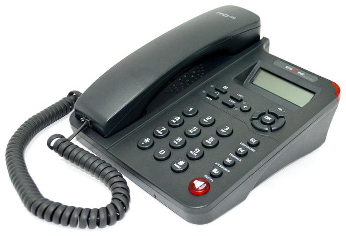 VoIP-телефон Escene ES220-PN, WAN, LAN, 2 линии, есть определитель номера ESCENEES220-PN