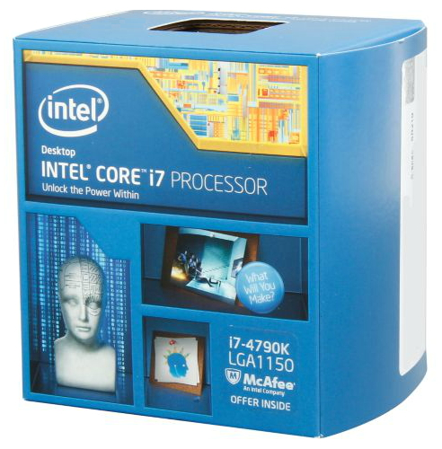 ��������� Intel Core i7-4790K Devil's Canyon (4000MHz, LGA1150, L3 8192Kb) BOX