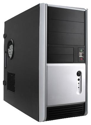 Корпус для компьютера IN WIN EAR006 450W Black/silver EAR006BS