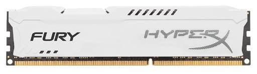 ����������� ������ Kingston HX318C10FW/8 (HyperX Fury 8Gb, DDR3 DIMM, 1866MHz), White