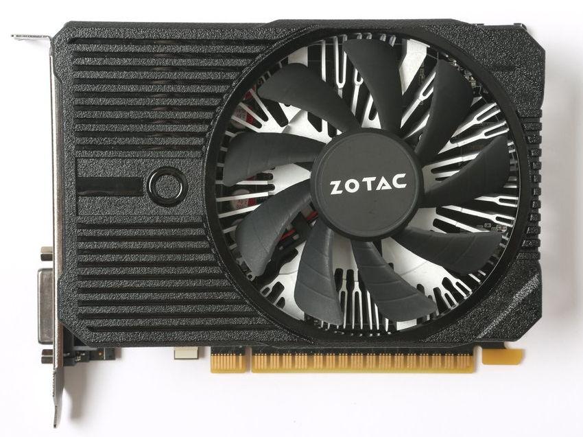 Видеокарта Zotac GeForce GTX 1050 1354Mhz PCI-E 3.0 2048Mb 7000Mhz 128 bit DVI HDMI HDCP, Mini (ZT-P10500A-10L)