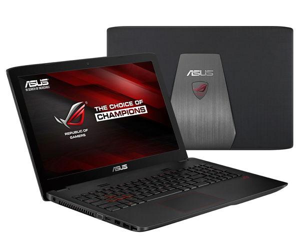ASUS ROG GL552VW-CN891D (90NB09I3-M11300) - (Intel Core i7 6700HQ 2600 МГц. Экран 15.6 дюймов, 1920x1080, широкоформатный TFT IPS. ОЗУ 8 Гб DDR4 2133 МГц. Накопители HDD+SSD 1128 Гб HDD 1000 Гб SSD 128 Гб; DVD-RW, внутренний. GPU NVIDIA GeForce GTX 960M. ОС DOS)