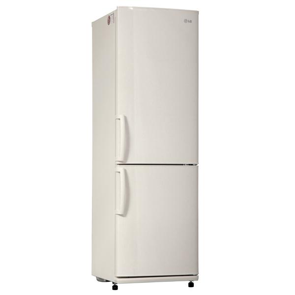 LG GA-B409UECA - (холодильник с морозильником, отдельно стоящий, класс A (369 кВтч/год), кол-во камер: 2, 303 л, компрессоров: 1, управление: электронное, No Frost)
