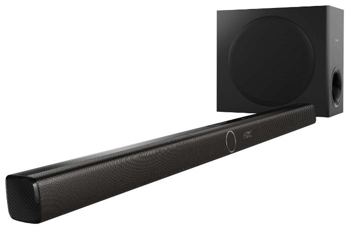 Philips HTL3160B /12 - звуковая панель, активная 3.1; суммарно 200 Вт; усилитель - линейный вход (стерео), цифровой оптический вход,