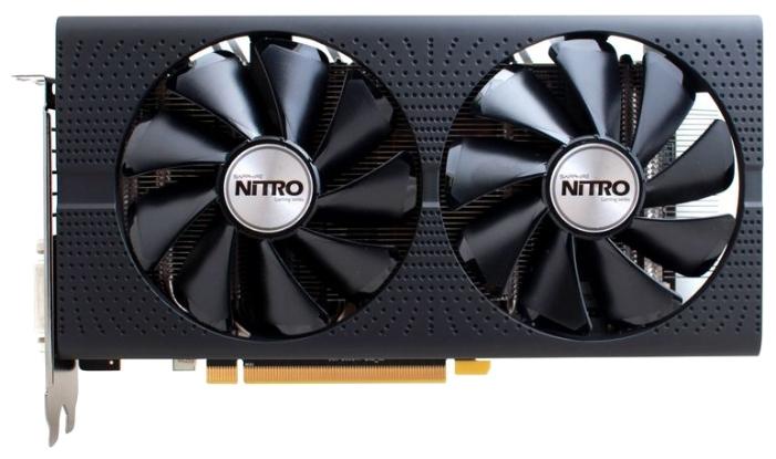 Видеокарта Sapphire Nitro ОС Radeon RX 480 1202Mhz 4096Mb (11260-13-20G)