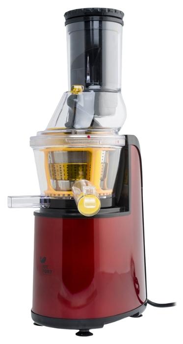 Соковыжималка Kitfort KT-1102, burgundy, 150 Вт, щеточка для чистки