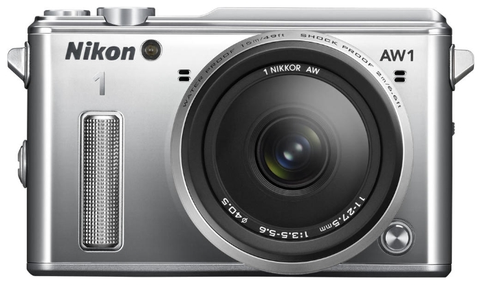 Nikon 1 AW1 KIT (11-27.5mm) - (15.13 млн, 1920x1080, 60 кадр./сек, 921000 точек, 3 дюйма)