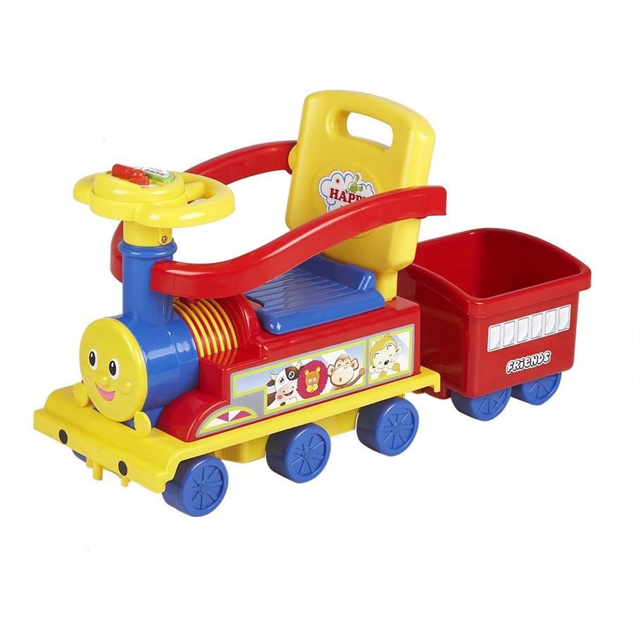 Ningbo Prince Toys Паровоз с бампером Красный