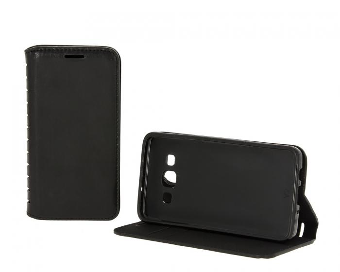 Чехол Book Case New для Huawei Honor 5X, с визитницей, Black