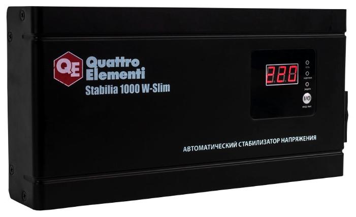 Стабилизатор напряжения Quattro Elementi Stabilia 1000 W-Slim