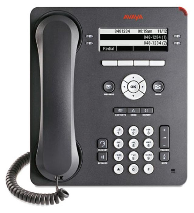 VoIP-телефон Avaya 9404 black, LAN, есть определитель номера