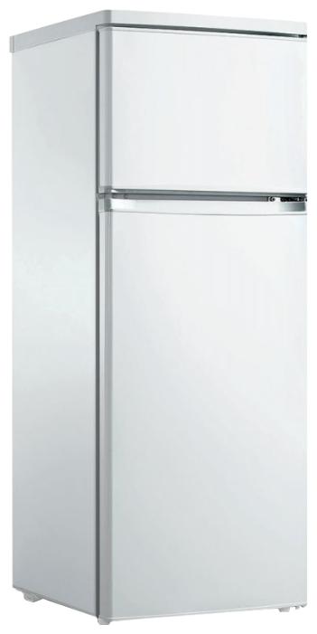Bravo XRD-238 white - (холодильник, 208 л, компрессоров 1, камер 2, дверей 2. Хол-ник 166 л (разм. капельная система). Мор-ник 42 л (разм. ручное). ШГВ 55x59x149 см. Управление электромеханическое. Энергопотр-е класс A+. белый / пластик/металл)