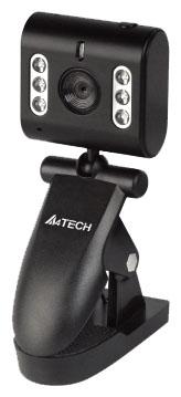 A4Tech PK-333E - 640x480; 0.3 млн пикс., CMOS; фокусировка автоматическая; USB 2.0; поворот 360 град.