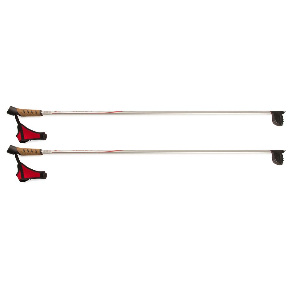 Палки лыжные алюминиевые Larsen Team 140