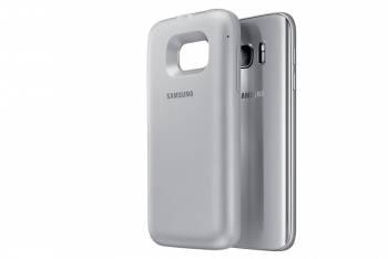 Samsung для Samsung Galaxy S7 edge Backpack silver - (Samsung Galaxy S7 edge; пластик, резинка)