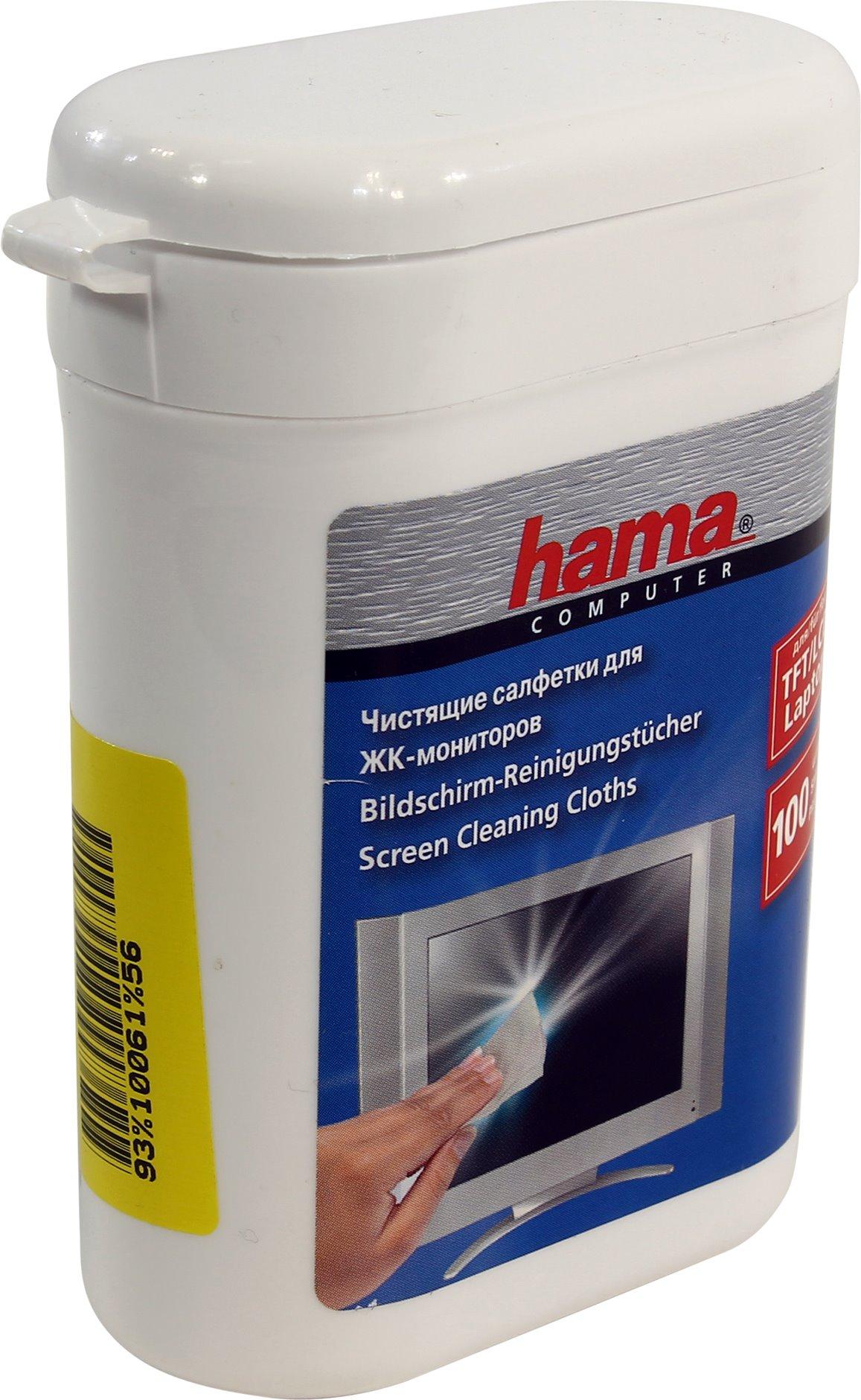Чистящие салфетки Hama R1084187 (100 шт)