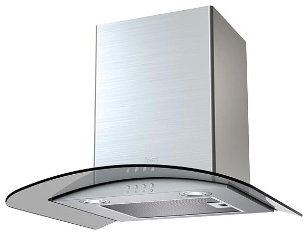 Вытяжка Krona ELEANORA 600 inox/dark glass electronic