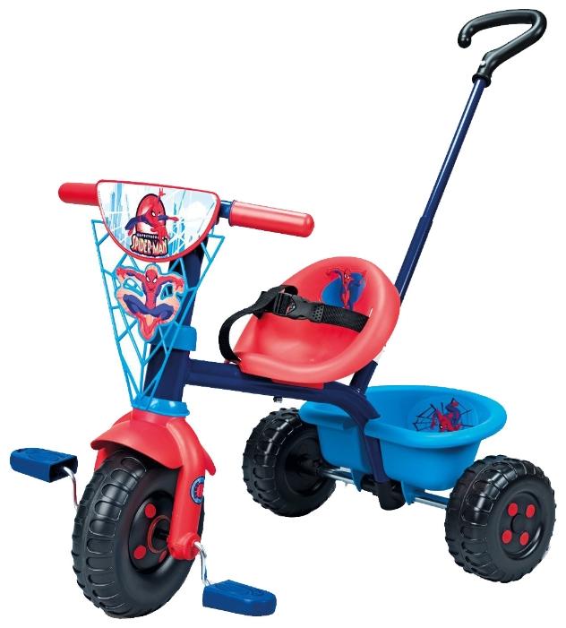 Велосипед трехколесный Smoby Be Fun Человек Паук
