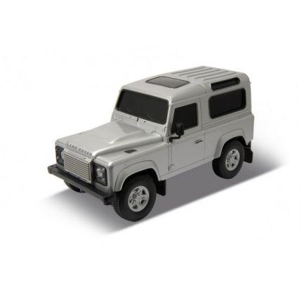 Радиоуправляемая игрушка Welly Land Rover Defender, silver