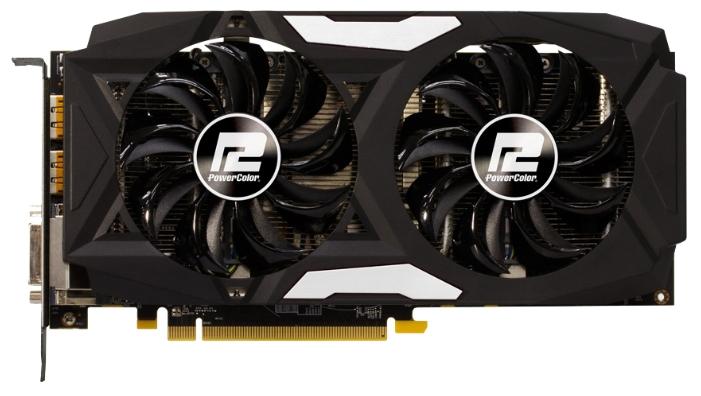 Видеокарта PowerColor Radeon RX 470 4096Mb AXRX 470 4GBD5-3DHD/OC