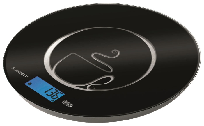 Весы кухонные Scarlett SC - 1215, black SC-1215 черный