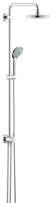 Grohe 27297001 Euphoria, верхний и ручной душ, без смесителя, хром