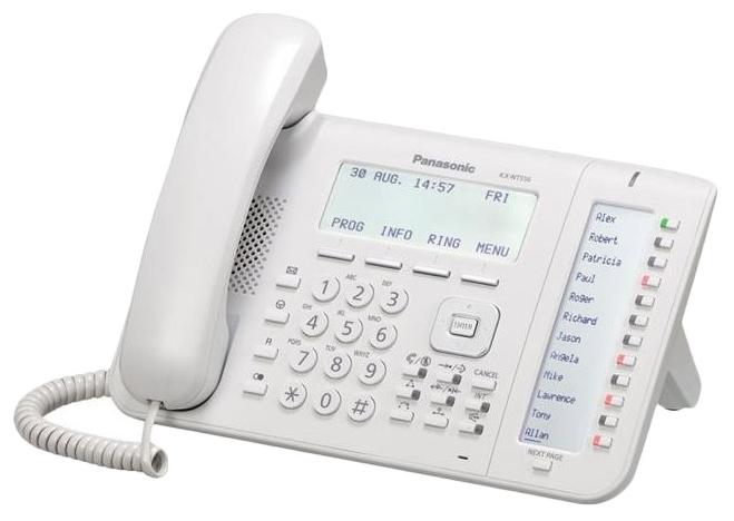 VoIP-телефон Panasonic KX-NT556RU, WAN, LAN, есть определитель номера