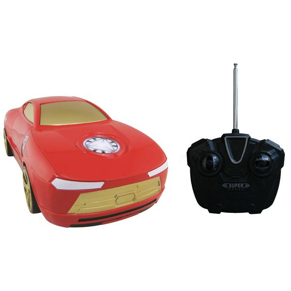 Радиоуправляемая игрушка Yellow машинка Мстители Железный человек (1:16)