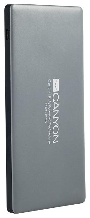 Аккумуляторная батарея Canyon CNS-TPBP5 (H2CNSTPBP5DG), Dark grey