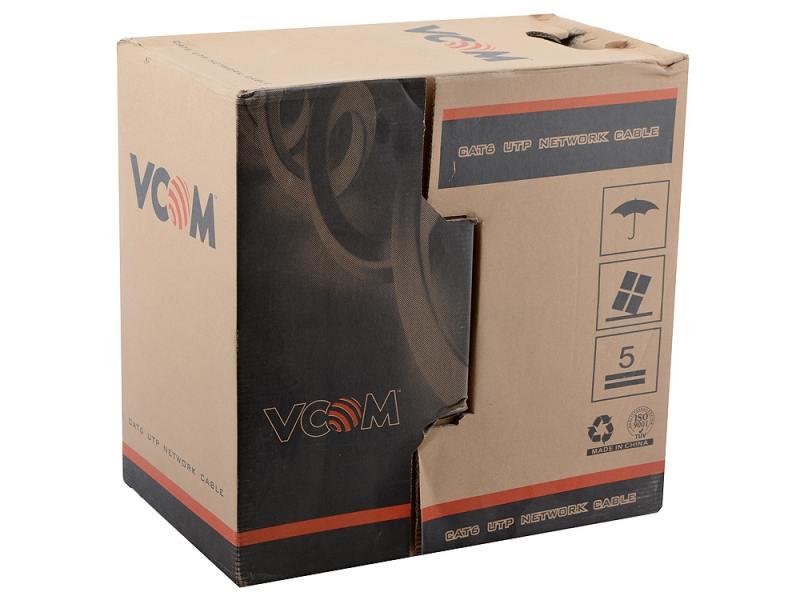 Кабель в бухте VCOM 4 пары, UTP, 6 кат., 305 м (VNC1120)