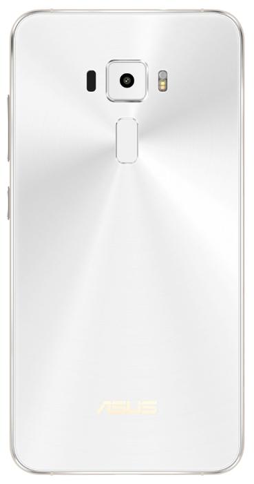 Asus ZenFone 3 (ZE520KL-1B043RU) white - (; GSM 900/1800/1900, 3G, 4G LTE, LTE-A Cat. 4; SIM-карт 2 (micro SIM+nano SIM); Qualcomm Snapdragon 625 MSM8953; RAM 3 Гб; ROM 32 Гб; 2650 мАч; 16 млн пикс., светодиодная вспышка; есть, 8 млн пикс.; датчики - освещенности, приближения, Холла, гироскоп, считывание отпечатка пальца)
