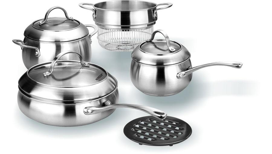 Набор посуды VITESSE VS-1047 (8 предметов)