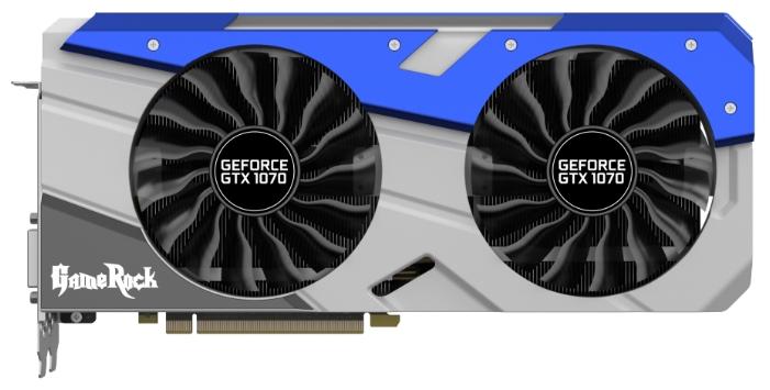 Видеокарта Palit GeForce GTX 1070 1556Mhz 8192Mb NE51070T15P2-1041G+9PU1000A01010