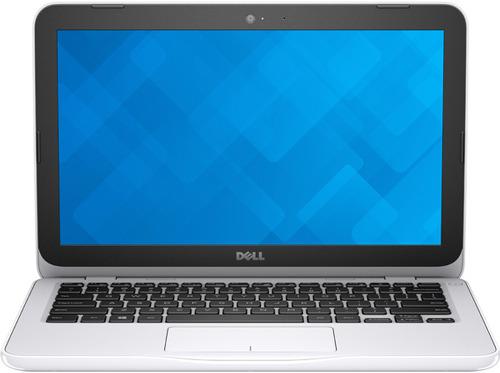 Dell Inspiron 3162 (3162-0538), White - (Intel Celeron N3060 / 1.60 ГГц. Экран 11.6 дюймов, 1366x768, широкоформатный. ОЗУ 2 Гб DDR3L 1600 МГц. Накопители HDD 500 Гб; DVD нет. GPU Intel HD Graphics 400. ОС Windows 10)