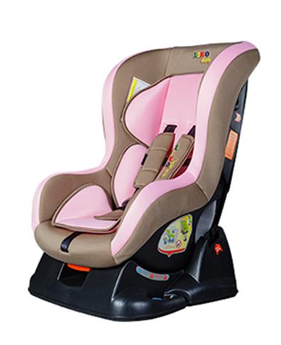 Автокресло группы 0+ (0-18 кг) Liko Baby LB 717, brown-pink