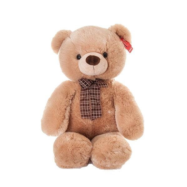 Мягкая игрушка Aurora, Медведь медовый с бантом
